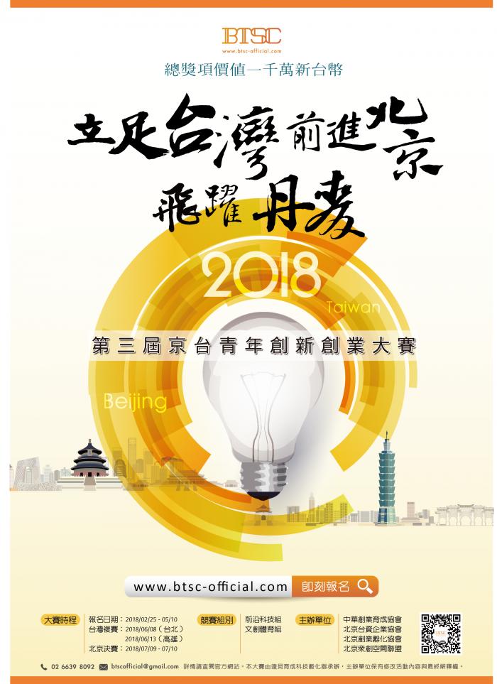 第三屆京台青年創新創業大賽海報0315