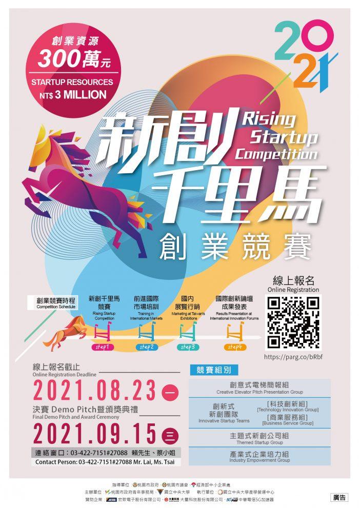 2021新創千里馬創業競賽EDM